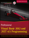 Professional Visual Basic 2012 and .NET 4.5 Programming (eBook)
